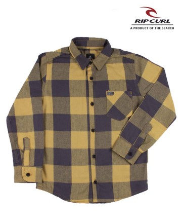 Camisa Rip Curl Groms Flannel Check