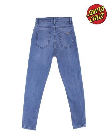 Jean  Santa Cruz Crop Blue
