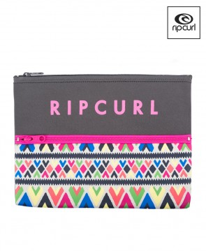 Pencil Case Rip Curl Double Neo Mixed Up
