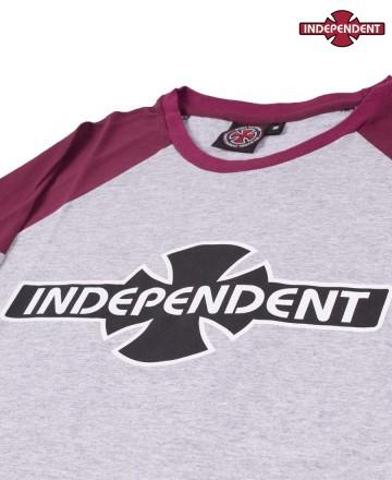 Remera Independent 3/4 Print
