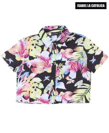 Camisa Isabel La Católica Crop
