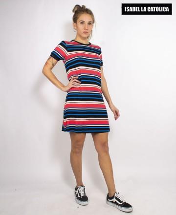 Vestido Isabel La Católica Ringer Morley Stripes