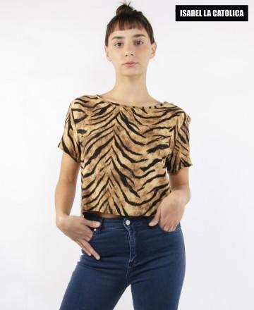 Cami Isabel La Católica Stripe Tiger