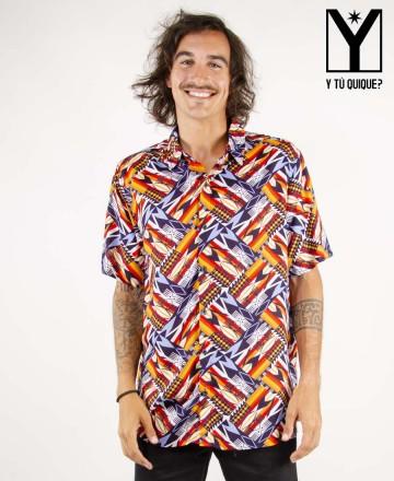 Camisa  Y Tú Quique? Ocean Ethnic