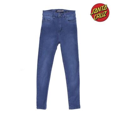 Jeans Santa Cruz STR XHI Crop Blue