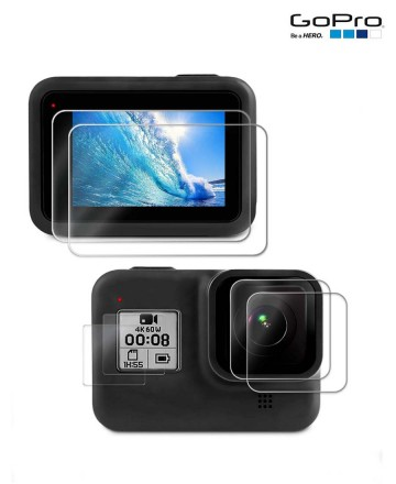Protectores  GoPro LCD Hero 8