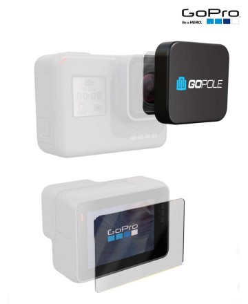 Protectores  GoPro LCD Hero 7/6/5