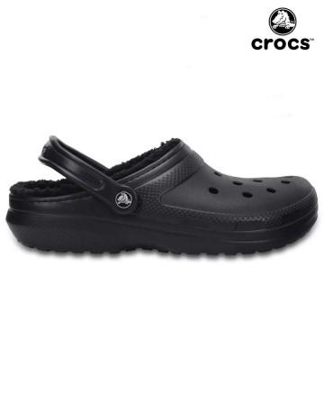 Suecos Crocs Lined Cord