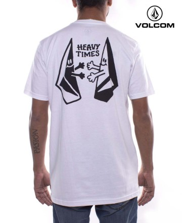 Remera  Volcom Heavy Times