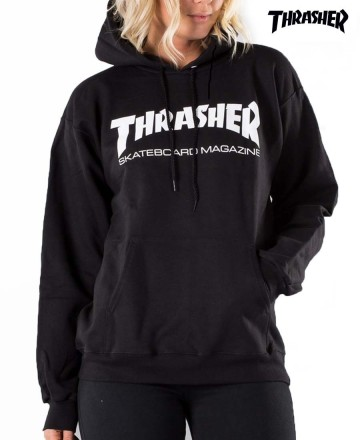 Buzo Thrasher Hood Print