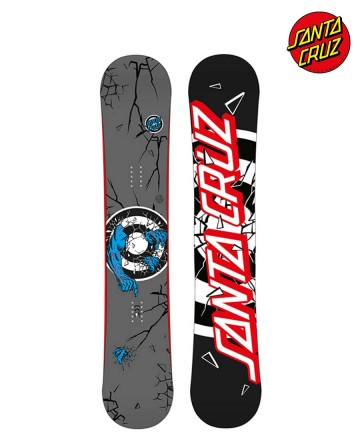 Tabla Snowboard Santa Cruz Rob Two Black