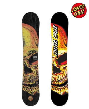 Tabla Snowboard Santa Cruz Deathpool Skull