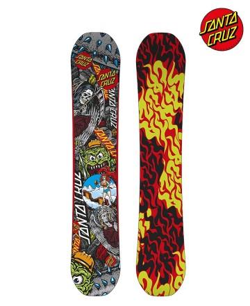 Tabla Snowboard Santa Cruz Gremlin Collage