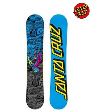 Tabla Snowboard Santa Cruz Screaming Hand