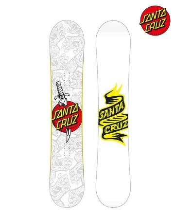 Tabla Snowboard Santa Cruz Tatoo Hand