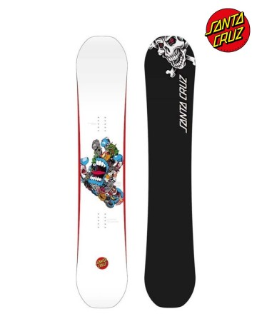 Tabla Snowboard Santa Cruz Pitchgrim Hand