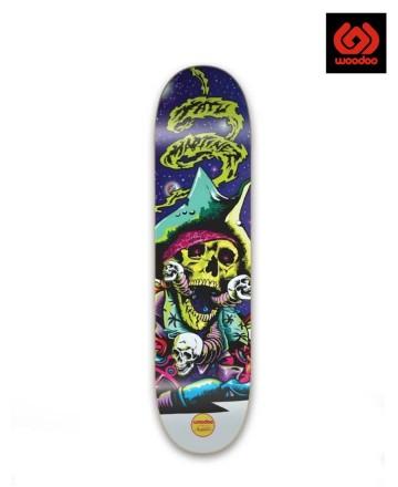 Tabla Skate Woodoo Illuminati Tatu Martinez