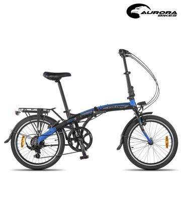 Bicicleta Plegable Aurora Folding Smart BK