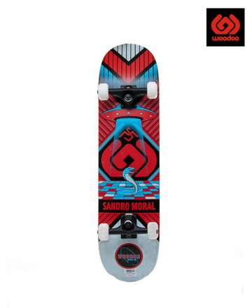 Skate Woodoo Pro Sandro Moral