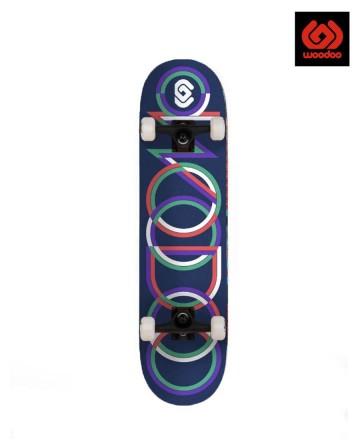 Skate Woodoo Rings Blue