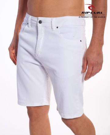 Bermuda Rip Curl Slim White 19 Pulg