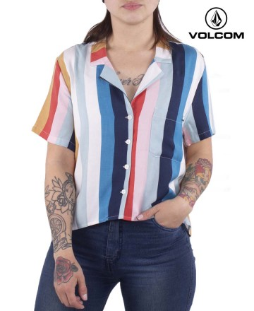 Camisa Volcom Wow Crop
