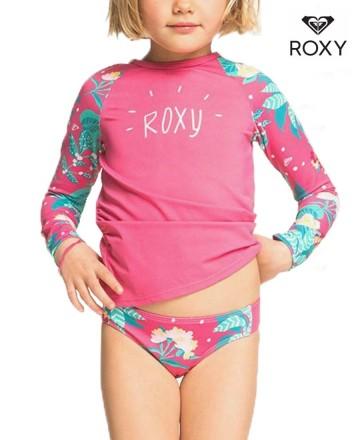 Lycra Roxy Magical Sea LS Set