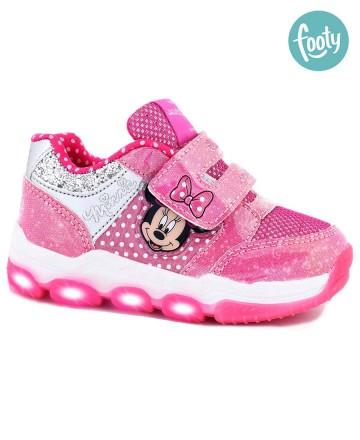 Zapatillas Footy Disney c/luz y velco