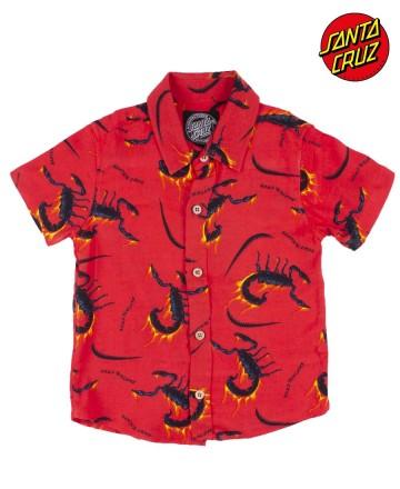 Camisa Santa Cruz Scorpions
