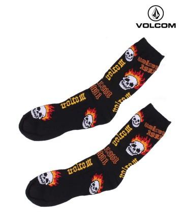 Medias Volcom Crew Skull
