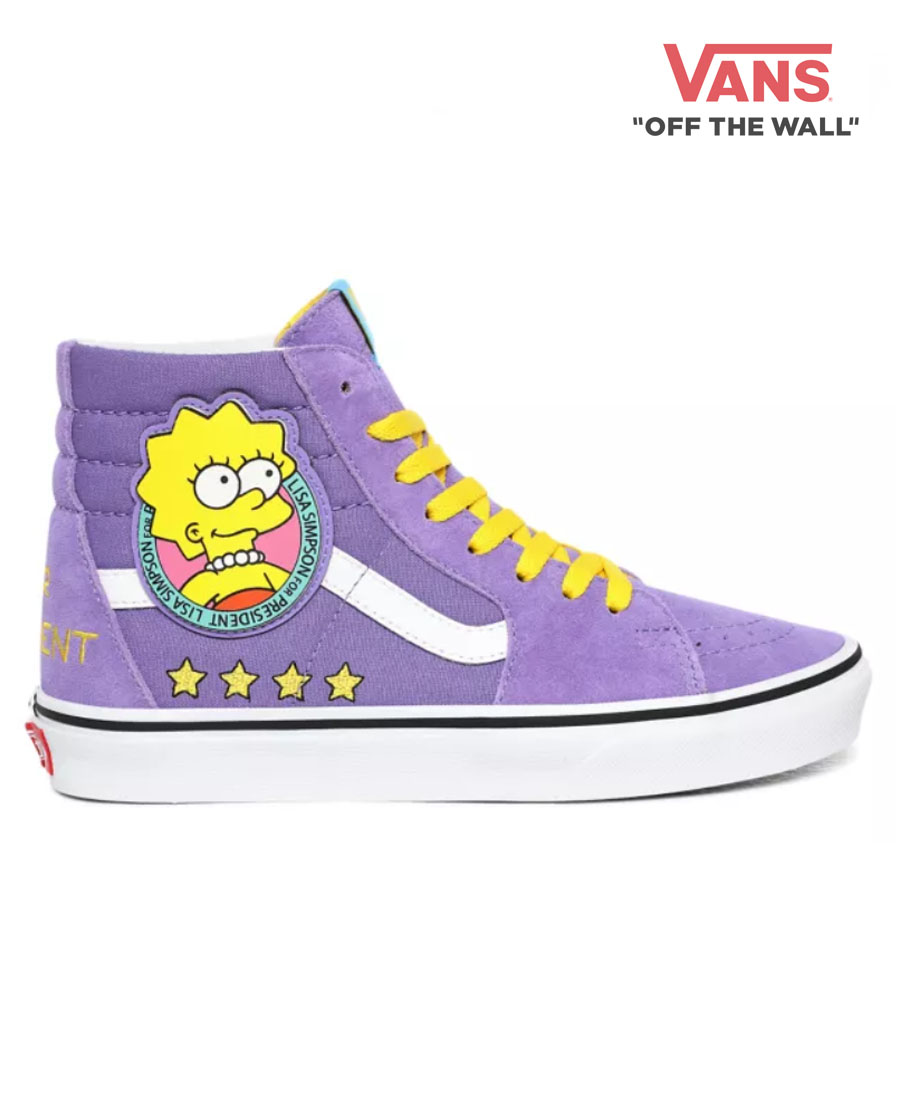 Cristóbal Colón - Zapatillas Vans Sk8 Simpsons