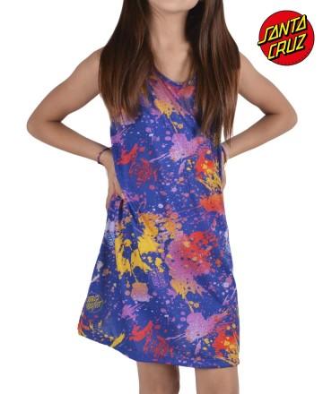 Vestido Santa Cruz Splatter