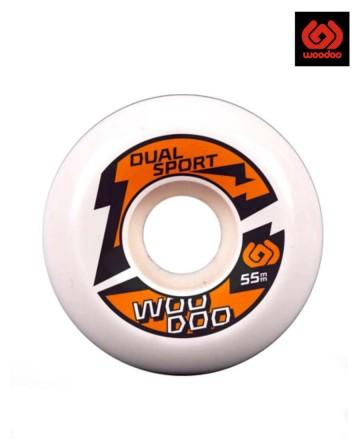 Ruedas 53mm Woodoo Dual Sport