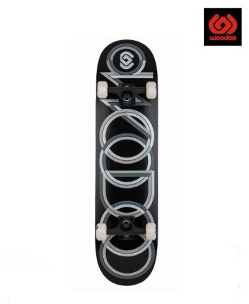 Skate Completo Woodoo Rings Black