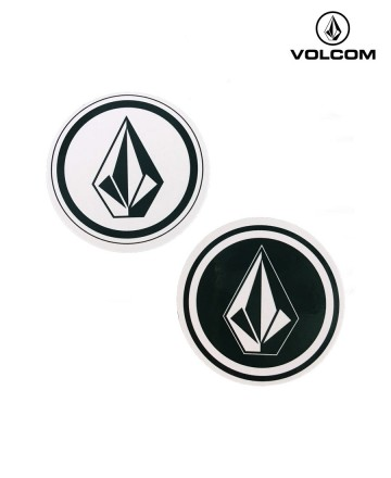 Sticker Volcom Stone Circle x2