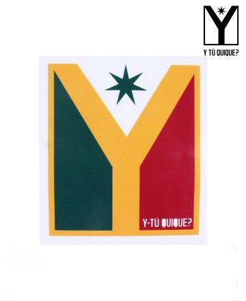 Sticker Y Tú Quique? Logo Medium