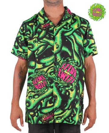 Camisa Slime Balls Hawaiiana