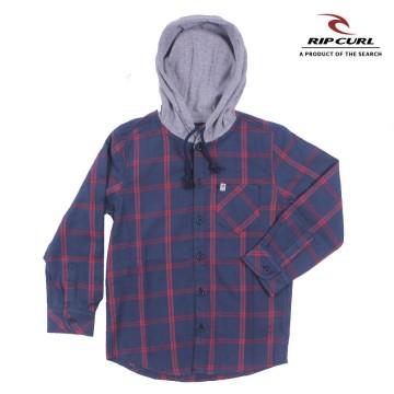 Camisa Rip Curl Hood Viyela