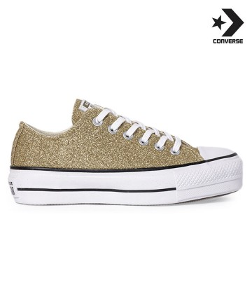 Zapatillas Converse Platform Glitter