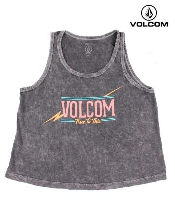 Musculosa Volcom Neon Crop