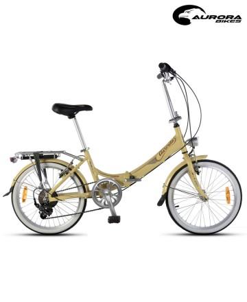Bicicleta Plegable Aurora Classic Retro