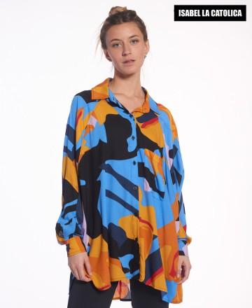 Camisa Isabel La Católica Abstract