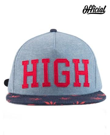 Cap Official High Red