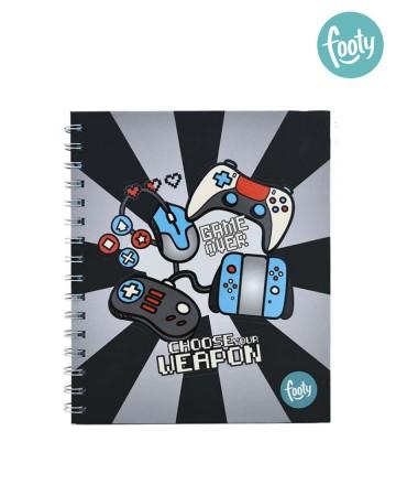 Cuaderno Footy