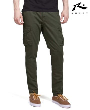 Pantalón Rusty Cargo Slim Spezial
