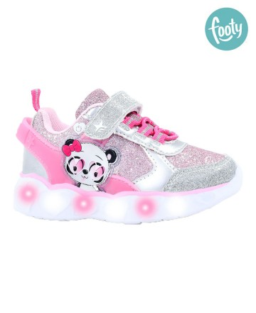 Zapatillas  Footy Panda c/luz
