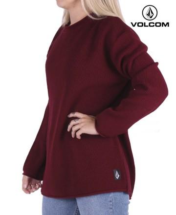 Sweater Volcom Crew Fuzz