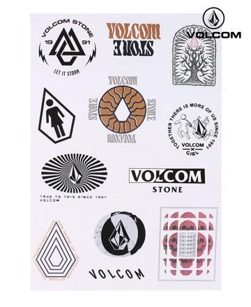 Sticker Volcom Sheet