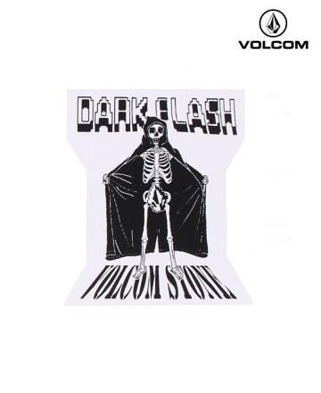 Sticker Volcom Dark Flash