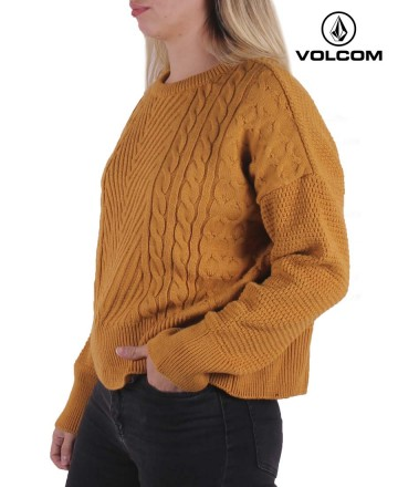 Sweater Volcom Crew Cable Babe